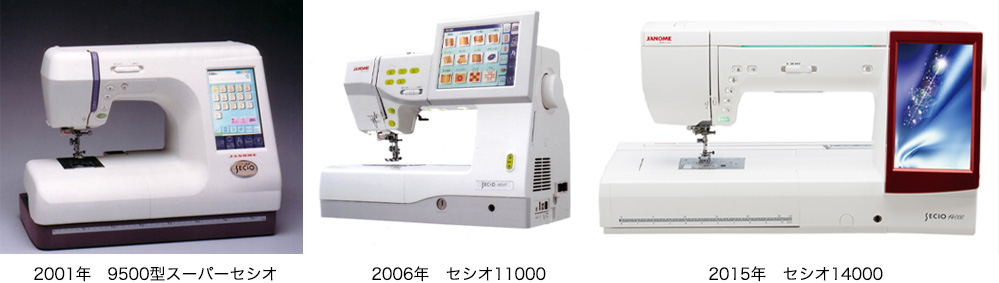 2001年 2006年 2015年