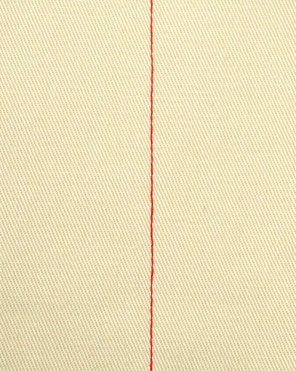 直線縫い 表