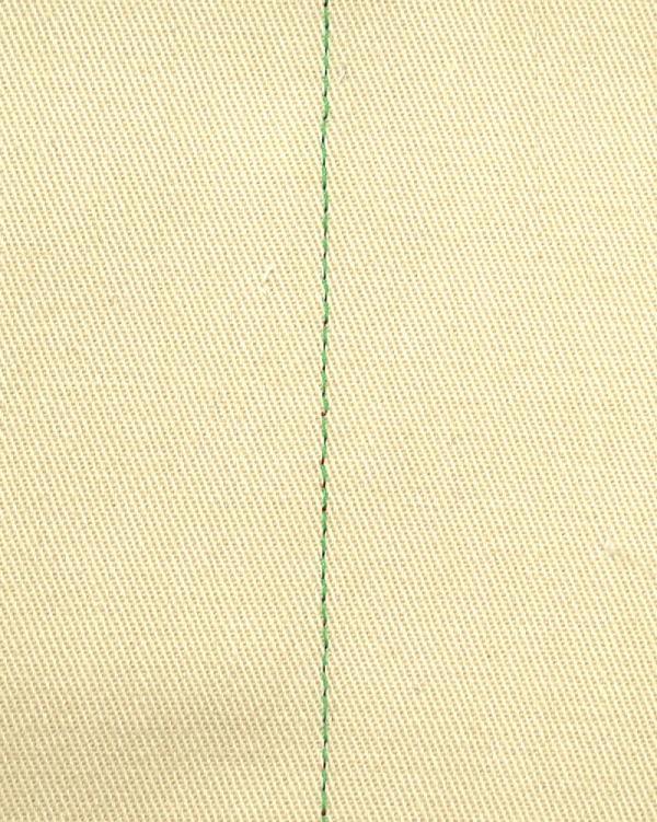 直線縫い 裏