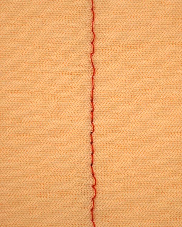 縫い目に輪ができてしまう