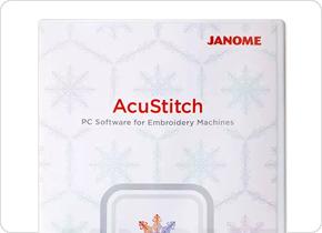 刺しゅうデータ作成ソフト「AcuStitch」