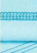 トリプルカバーステッチ(3本針4本糸)