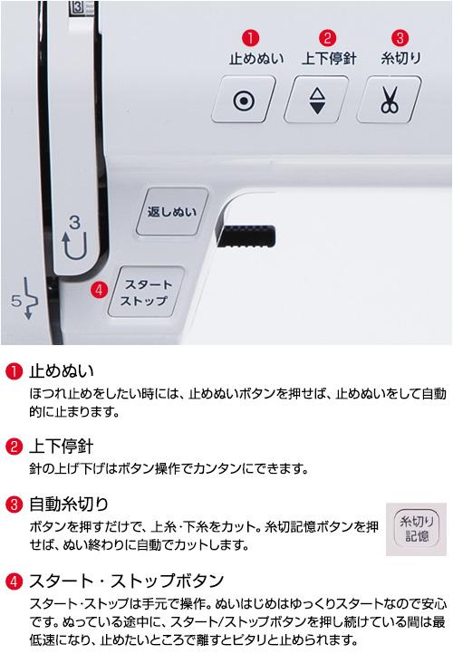PE990R 各ボタン