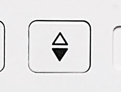 上下停針ボタン