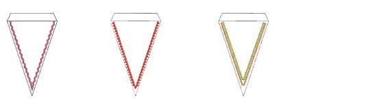 メモリークラフト 400E ミシン内蔵刺しゅうデザイン フレーム
