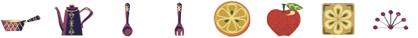 ミシン内蔵刺しゅうデザイン USBメモリ 刺しゅう模様 キッチン ©Y.GANAHA COLLECTIONS