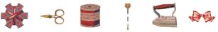 ミシン内蔵刺しゅうデザイン USBメモリ 刺しゅう模様 ソーイング ©Y.GANAHA COLLECTIONS